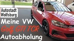 Autostadt Wolfsburg: Meine VW Golf GTI TCR Autoabholung