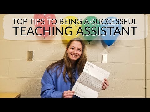 My Last Day As A Teaching Assistant | Top Tips For Being A Successful TA