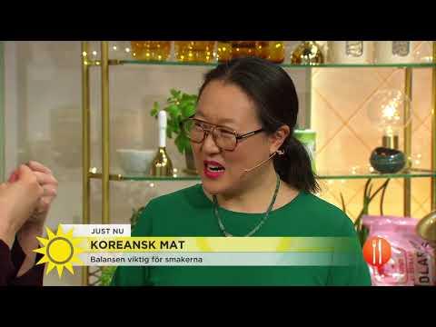 Koreanskt på tallriken - både smaker och kultur - Nyhetsmorgon (TV4)
