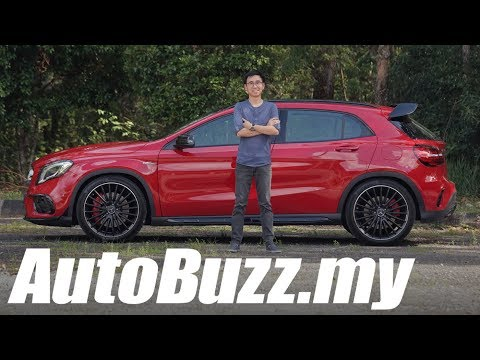 Mercedes-AMG GLA 45 4MATIC facelift review - AutoBuzz.my