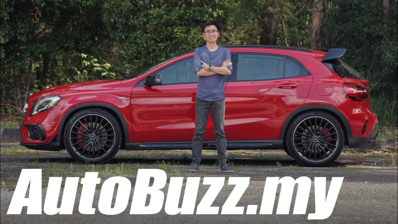 Mercedes Amg Gla 45 4matic Facelift Review Autobuzz My Youtube