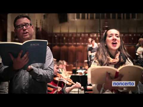 Bach - Domine Deus, B minor Mass (noncerto 41.2 Ensemble Caprice) Classical Music Video