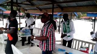 URHOBO WORLD UNITED(UWU) WARRI CELEBRATING NIGERIAN 53RD INDEPENDENCE ANNIVERSARY AT McCARTHY BEACH.