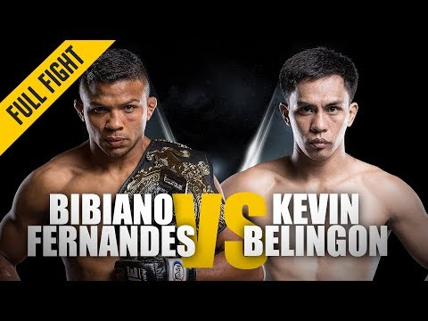 ONE: Full Fight   Bibiano Fernandes vs. Kevin Belingon   Jiu-Jitsu Masterclass   January 2016