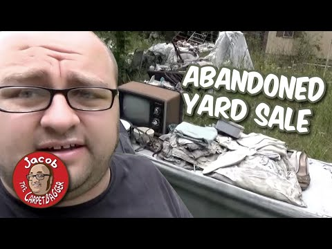 Abandoned Yard Sale