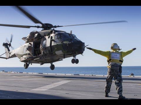 HMAS Canberra Air Operations