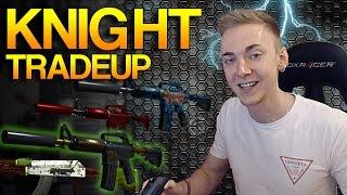CS:GO - MEDIUM RISK - M4A1-S Knight Tradeup!