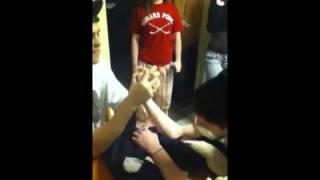 """Russian"" arm wrestling"