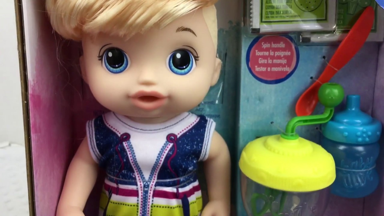 Baby Alive Sweet Spoonfuls Boy Doll Unboxing Youtube