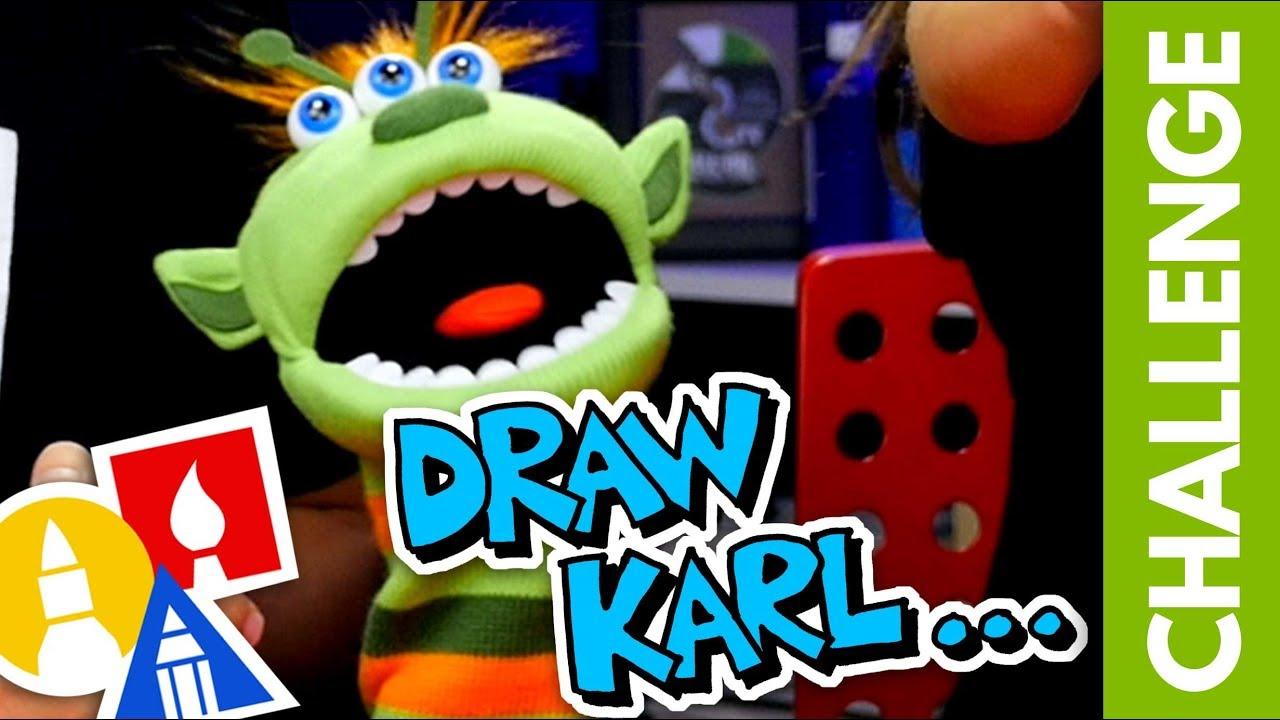 CHALLENGE-TIME: Draw Karl... (7.27.19)