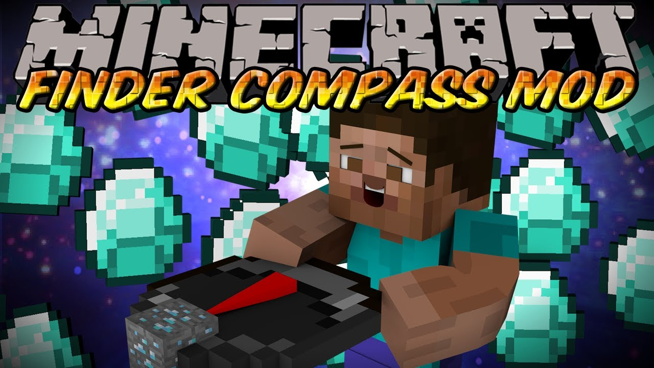how do i make a compass in minecraft