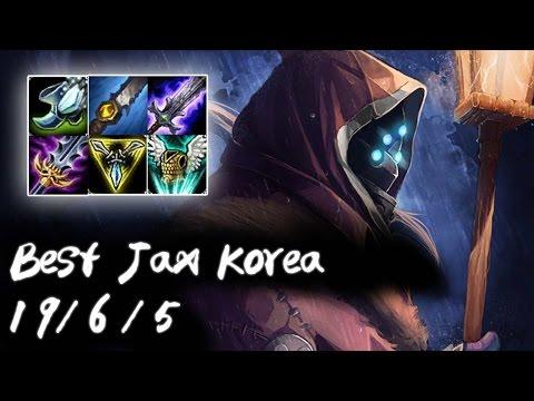 Best Jax Korea Jungle | 1700 Jax Ranked Games Played in S6 | Korea High Elo
