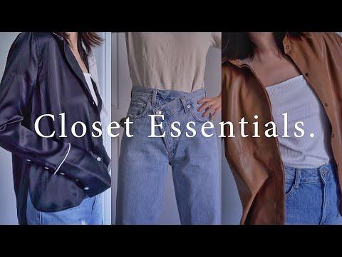 换季必备基础单品 / Closet Essentials 3