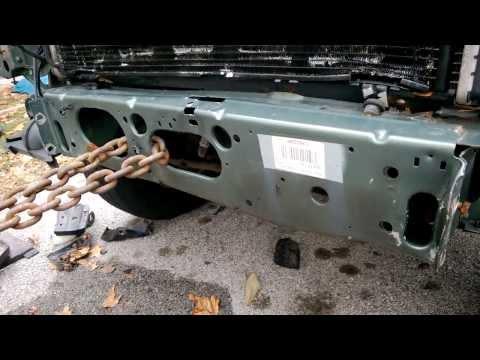 2000 Jeep Cherokee - Accident Repairs