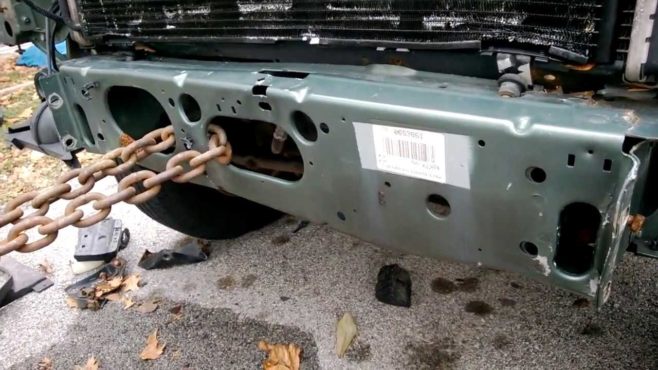 jeep diagram damage [ 1280 x 720 Pixel ]