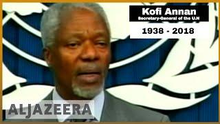 🇬🇭 Former UN chief Kofi Annan laid to rest in Ghana   Al Jazeera English