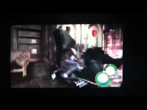 Resident Evil 4 HD: Leon's Suplex