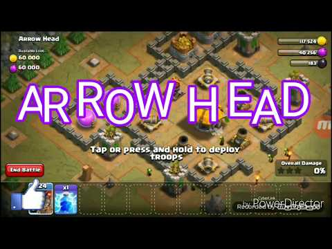 ARROW HEAD in clash of clans