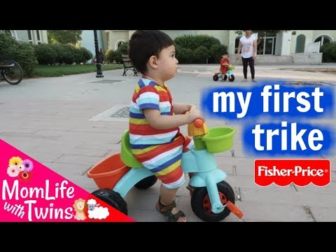 FISHER PRICE MY FIRST TRIKE FOR TODDLERS 2+ | UNBOXING, ASSEMBLY & FIRST IMPRESSIONS