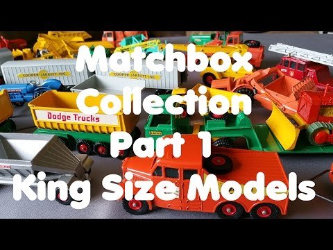 Matchbox Collection - King Size Models - Part 1 - Video No.142 - August 22th, 2016