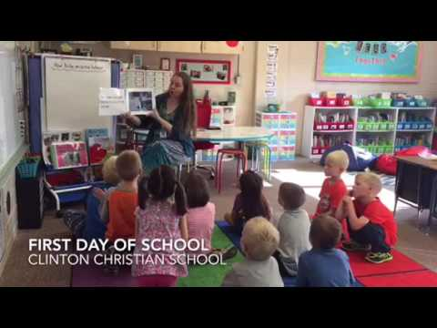 Clinton Christian School | First Day of School