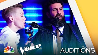 "Duo Almond&Olive Sings Tom Petty's ""Wildflowers"" - The Voice Blind Auditions 2021"