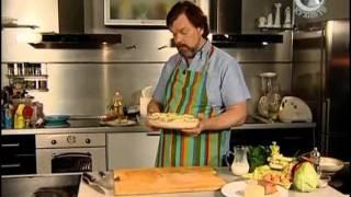 Мужская Еда 83 Картофельная запеканка, капустный салат