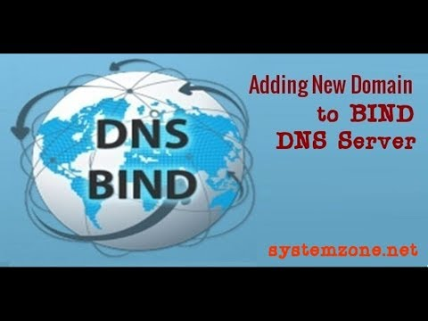How To Add New Domain To BIND DNS Server