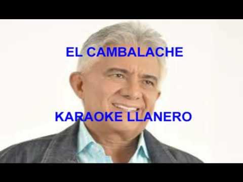 EL CAMBALACHE DE REYNALDO ARMAS KARAOKE DEMO