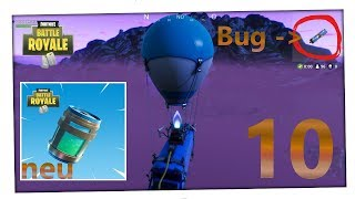 THE BUS FLIES SIMPLE TO THE SECRET ISLAND BUG + UPDATE 🔫 FORTNITE BATTLE ROYALE #10