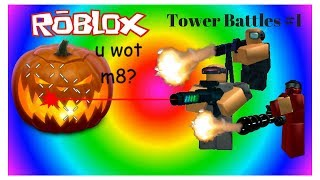 I BEAT JACK! Roblox Tower Defence (laggy)