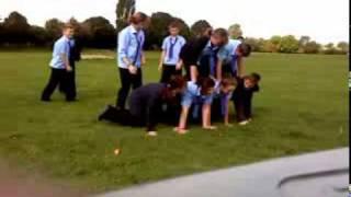 human pyramid practise Thumbnail