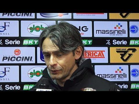 Perugia-Benevento 1-2, Cosmi E Inzaghi Post