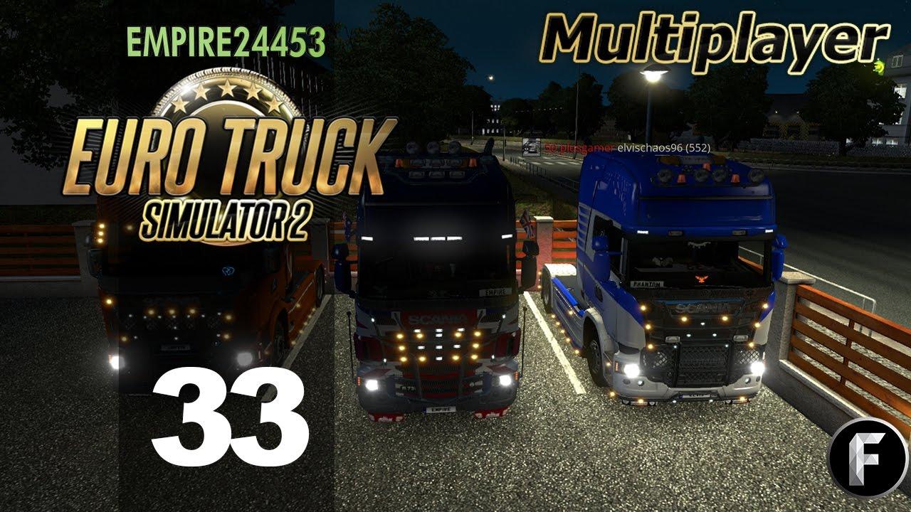 Euro Truck Simulator 2 | 50 Squad At It Again | Episode 33