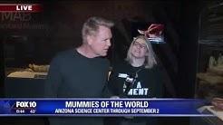Cory's Corner: Mummies of the World at Arizona Science Center