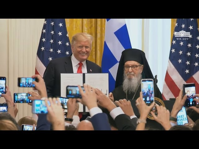 <span class='as_h2'><a href='https://webtv.eklogika.gr/' target='_blank' title='Ντόναλντ Τραμπ: Οι ΗΠΑ έχουν βαθιά διαμορφωθεί από τον ελληνικό πολιτισμό'>Ντόναλντ Τραμπ: Οι ΗΠΑ έχουν βαθιά διαμορφωθεί από τον ελληνικό πολιτισμό</a></span>