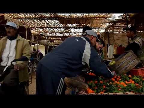 2012 Mercado alimentos en Rissani, Marruecos
