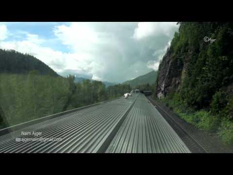 Train Ride, Kamloops to Valemount, British Columbia, CA