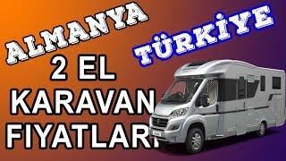 ALMANYA-TÜRKiYE  2. el KARAVAN FiYATLARI KARSILASTIRMASI