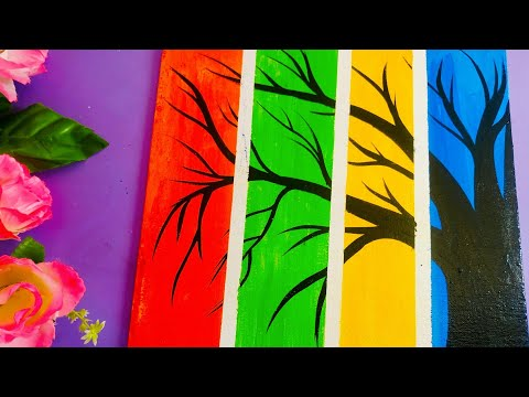 painting-tutorial-for-kids-|-easy-painting-for-kids-|-art-therapy|-canvas-acrylic-painting-for-kids