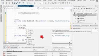 01D.1 einfacher Taschenrechner mit C# und WPF