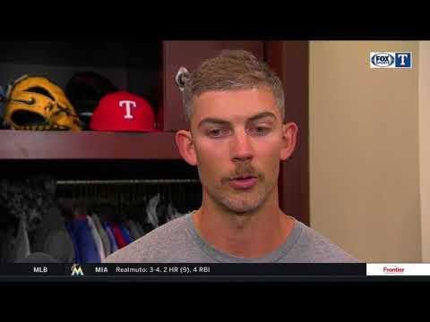 Mike Minor on mustache