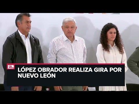 López Obrador  encabeza acciones para el Bienestar en Nuevo León