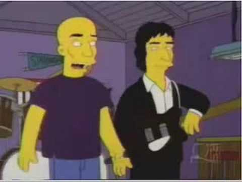 REM on the simpsons