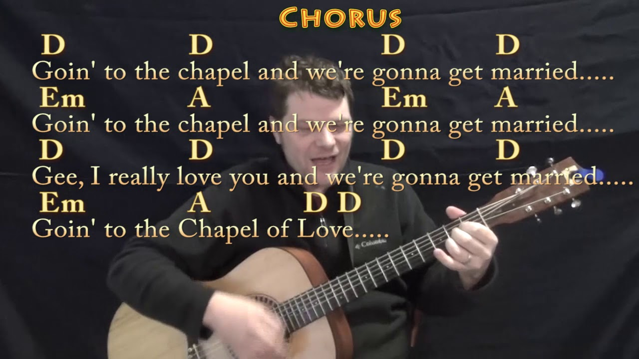 Chapel Of Love The Dixie Cups Guitar Cover Lesson With Chords
