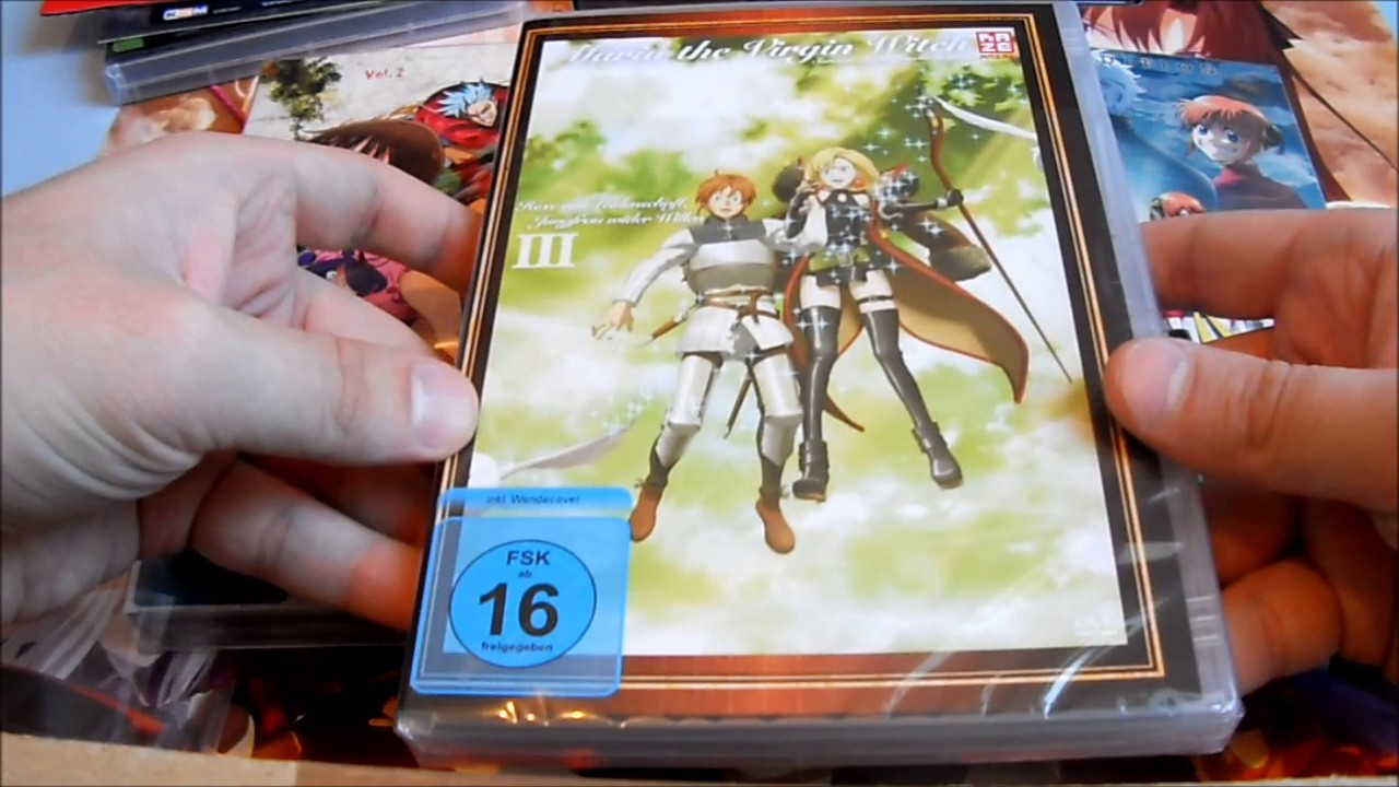 Unboxing ~ Attack on Titan + God Eater + Maria The Virgin Witch + Gintama +  Deadly Sins (German)