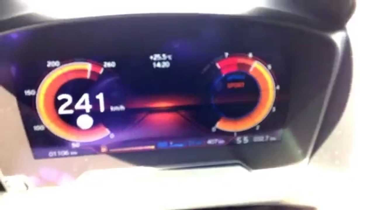Bmw I8 Speed Acceleration In Sport Mode 10 240 Km H On German
