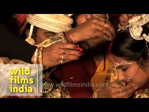 Sindoor daan - a post Bengali wedding rituals