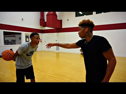 Playing My Cousin PontiacMadeDDG In Basketball...😀