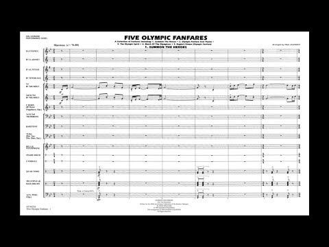 Five Olympic Fanfares arranged by Paul Lavender